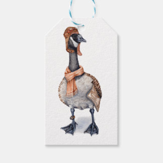 Aviator Goose Pack Of Gift Tags