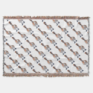 Aviator Goose Throw Blanket