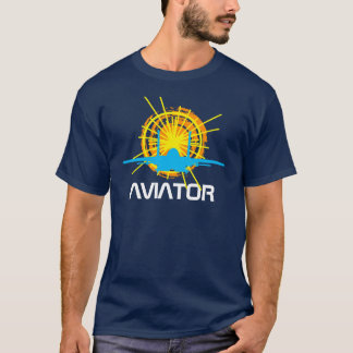Aviator one-of-a-kind beautiful customizable T-Shirt