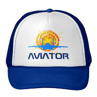 Aviator one-of-a-kind beautiful customizable trucker hat