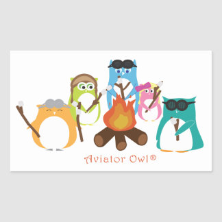 Aviator Owl Marshmallow Fire