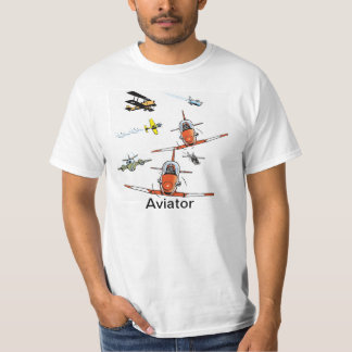 Aviator Plane Humor Men's Shirt