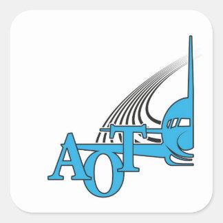"Aviators on Top 3"" Sticker"