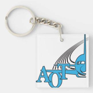 Aviators on Top Keychain