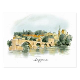 Avignon post card