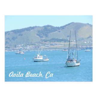 Avila Beach, CA Postcard