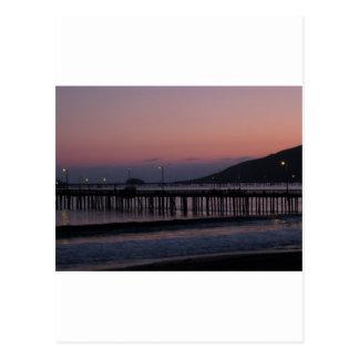 Avila Beach nights Postcard