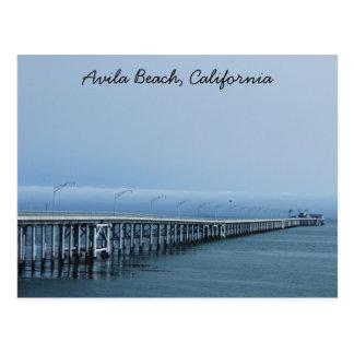 Avila Beach Postcard