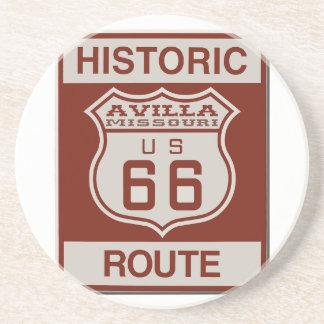 Avilla Route 66 Beverage Coaster