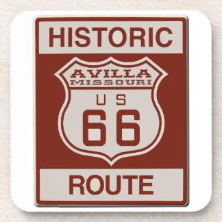 Avilla Route 66 Beverage Coasters