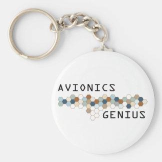 Avionics Genius Keychain