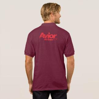 Avior Airlines IATA PASSANGER GIFT Aouth Air Tobac Polo Shirt