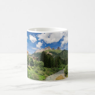 Avisio stream, val di Fassa, Italy Coffee Mug