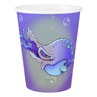 AVISSE CUTE ALIEN MONSTER PAPER CUP