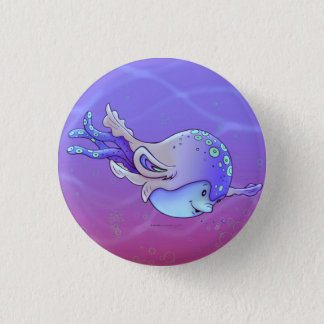 AVISSE CUTE ALIEN MONSTER SMALL BUTTON