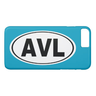 AVL Asheville North Carolina iPhone 8 Plus/7 Plus Case