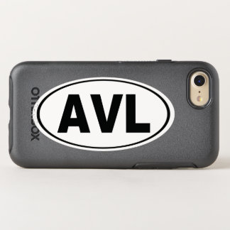AVL Asheville North Carolina OtterBox Symmetry iPhone 8/7 Case
