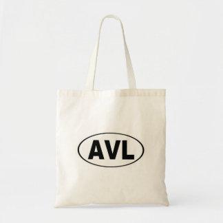 AVL Asheville North Carolina Tote Bag