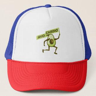 Avo-cardio funny avocado trucker hat