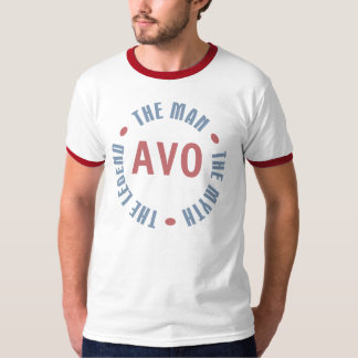 Avo Man Myth Legend Customizable T-Shirt