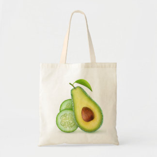 Avocado and cucumber