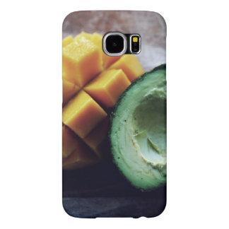 Avocado and mango pair samsung galaxy s6 cases