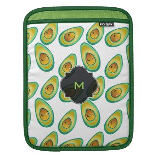 Avocado Avocado decorative pattern iPad Sleeve
