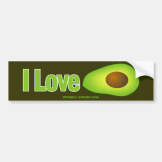 Avocado Bumper Sticker