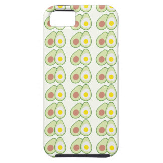 Avocado & Egg Pattern Iphone 5S Case