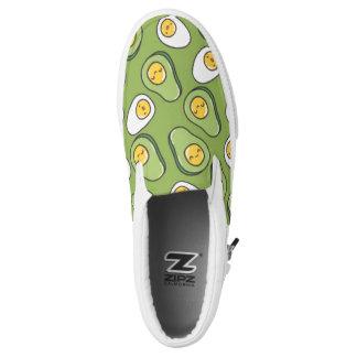 Avocado Egg Slip-On Sneakers