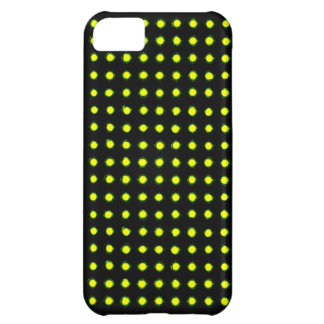 Avocado green Led light iPhone 5C Cover