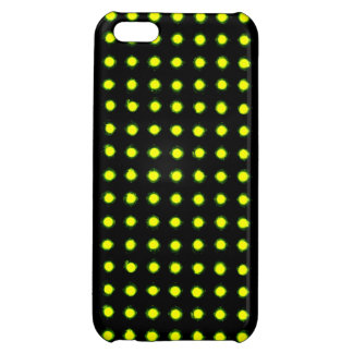 Avocado green Led light iPhone 5C Cases