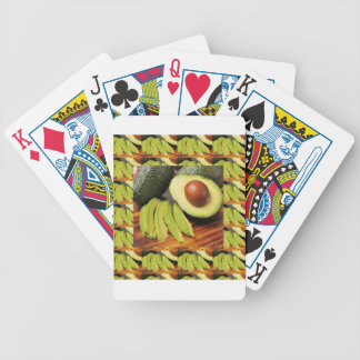 AVOCADO healthy foods ingredient sauces chutney Bicycle Playing Cards