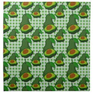 Avocado in  Paradise Printed Napkin