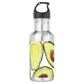 Avocado Pattern 532 Ml Water Bottle