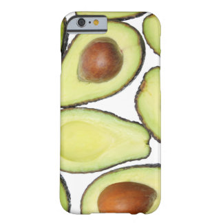 Avocado Pattern Barely There iPhone 6 Case