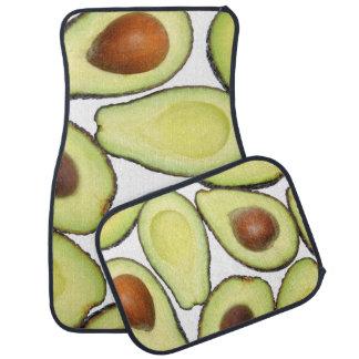 Avocado Pattern Car Mat