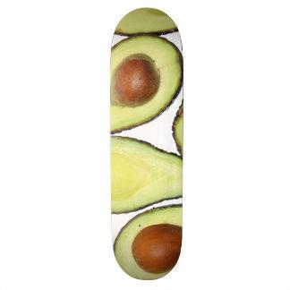 Avocado Pattern Custom Skate Board