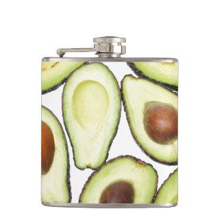 Avocado Pattern Hip Flask