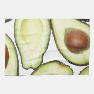 Avocado Pattern Kitchen Towel