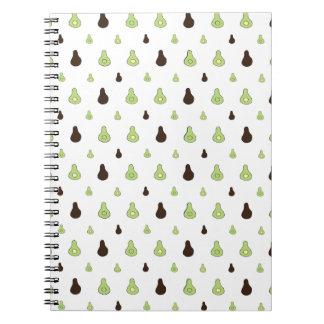 Avocado Pattern Notebooks