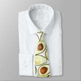Avocado Pattern Tie