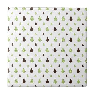 Avocado Pattern Tile