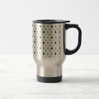 Avocado Pattern Travel Mug
