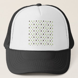 Avocado Pattern Trucker Hat