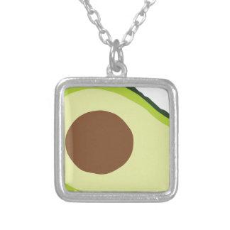 Avocado Silver Plated Necklace