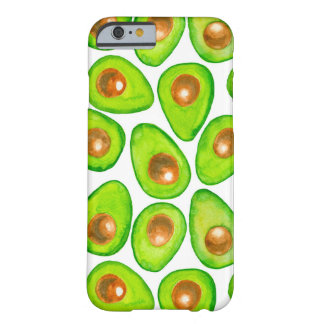 Avocado slices watercolor barely there iPhone 6 case