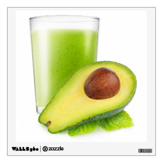 Avocado smoothie wall sticker