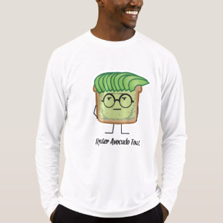 Avocado Toast Hipster glasses greaser hair T-Shirt