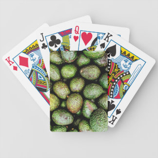 Avocados Bicycle Playing Cards